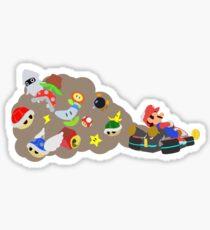 Mario Kart Item fury  Sticker