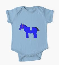 Interpretation of a Minifig Horse One Piece - Short Sleeve