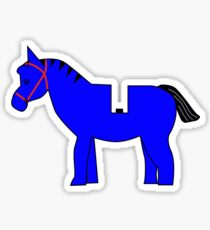 Interpretation of a Minifig Horse Sticker