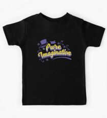 Pure Imagination - Willy Wonka Kids Tee