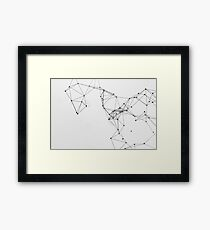 Abstract Geo 4 Framed Print
