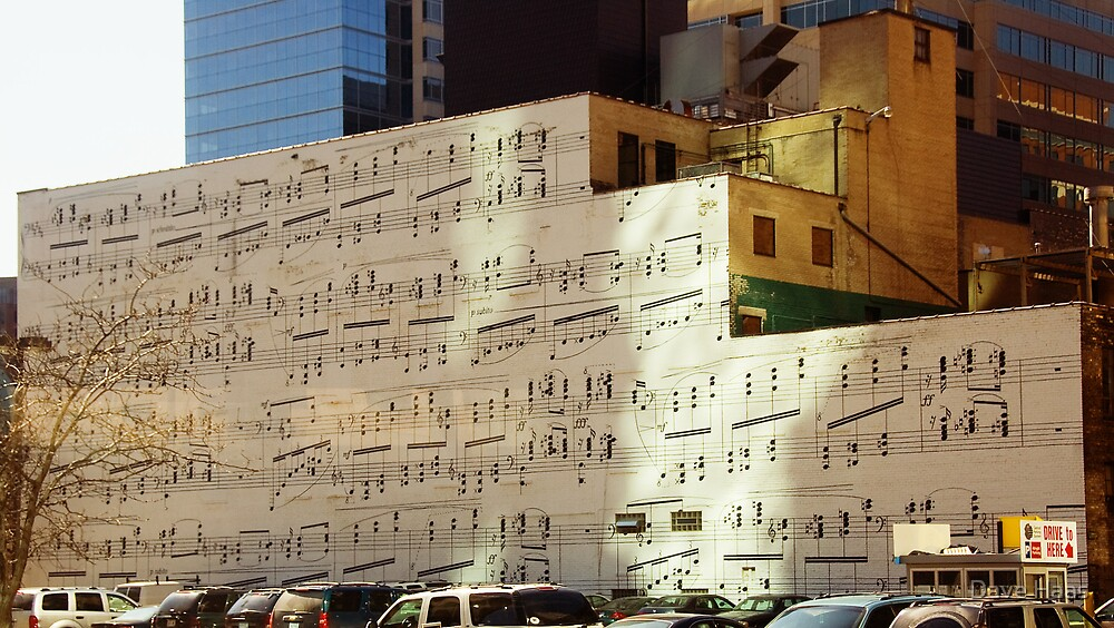Musical Wall  by Dave Haas