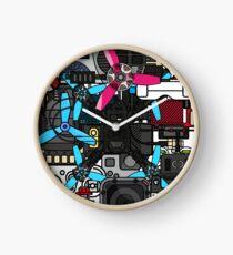 FPV Emojis Sticker Style Clock