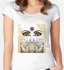 Eyes of Time Women's Fitted Scoop T-Shirt
