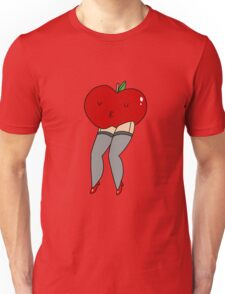Apple With Sexy Legs Unisex T-Shirt