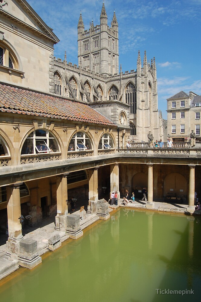 Reflections at Roman Baths in Bath 2 by Ticklemepink