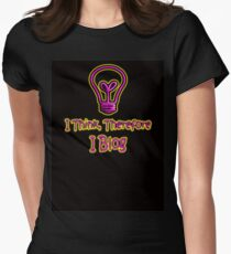 I Blog Women's Fitted T-Shirt