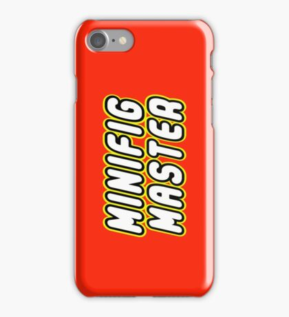 MINIFIG MASTER, by Customize My Minifig iPhone Case/Skin
