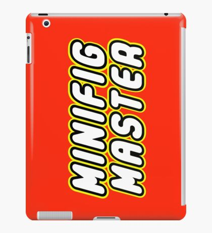 MINIFIG MASTER, by Customize My Minifig iPad Case/Skin