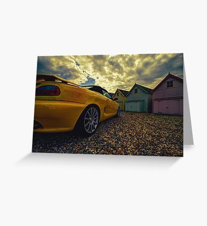 Day Out at Mersea Greeting Card