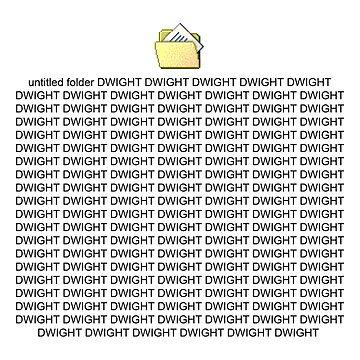 DWIGHT DWIGHT DWIGHT by Dandi-boy