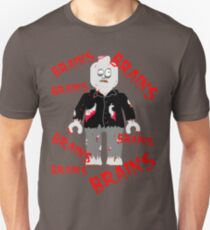 A LOT OF BRAINS - ZOMBIE MINIFIG Unisex T-Shirt