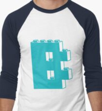 THE LETTER B, by Customize My Minifig Men's Baseball ¾ T-Shirt
