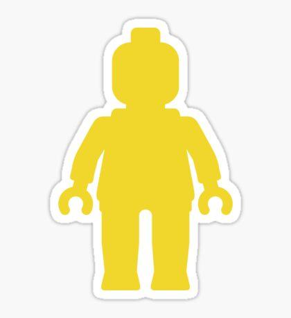 Minifig [Large Yellow] Sticker