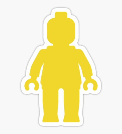 Minifig [Large Yellow] Sticker