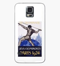 Paris 1924 Olympics Poster Case/Skin for Samsung Galaxy