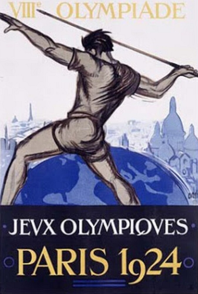 Paris 1924 Olympics Poster by dimmesdale