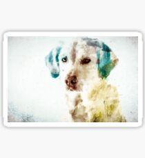 Loving Dog Sticker