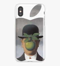 Apple Logo Rene Magritte iPhone Case/Skin