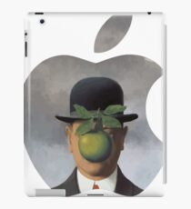 Apple Logo Rene Magritte iPad Case/Skin