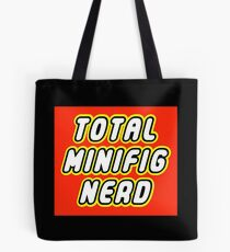 TOTAL MINIFIG NERD Tote Bag