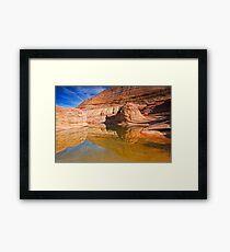 Sandstone Illusion Framed Print