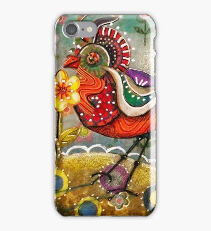 Funky Bird iPhone Case/Skin