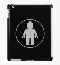 MINIFIG GREY iPad Case/Skin