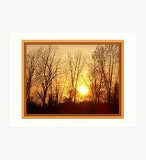 Warm Inner Glow Art Print