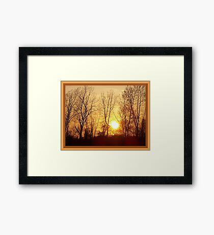 Warm Inner Glow Framed Print