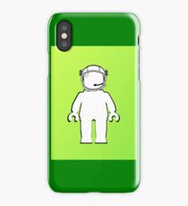 Banksy Style Astronaut Minifig  Customize My Minifig iPhone Case