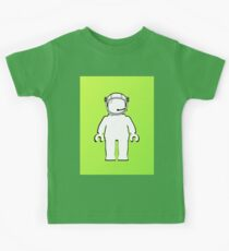 Banksy Style Astronaut Minifig  Customize My Minifig Kids Tee