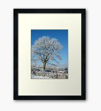 winter in kilkenny Ireland. Framed Print
