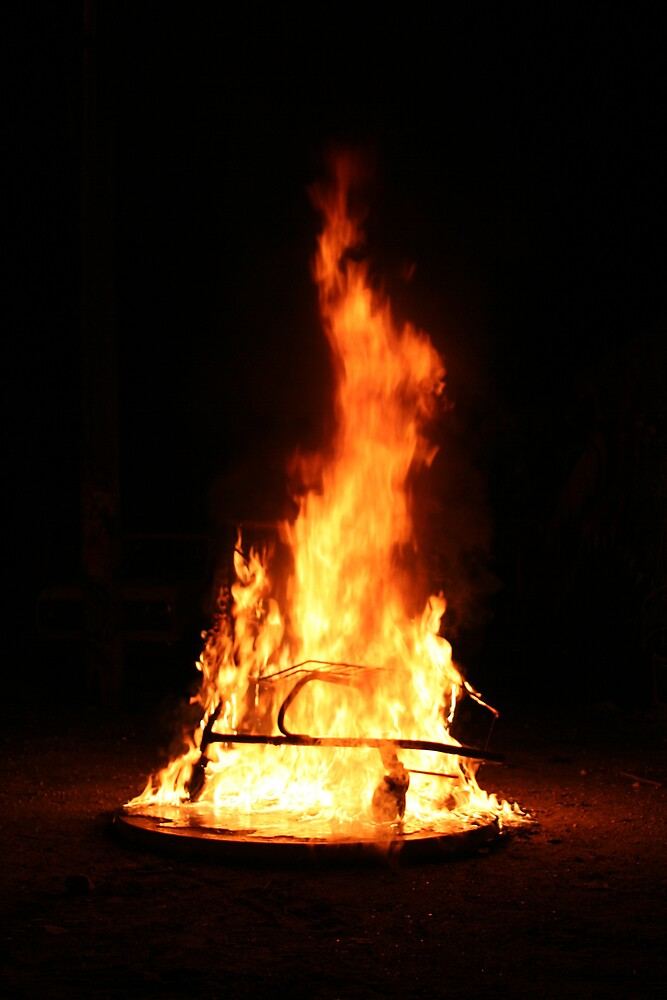 Little Haiti Kart Fires:  Engulfed by AngelaHR