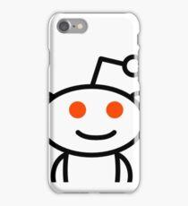 Reddit - cropped alien iPhone Case/Skin