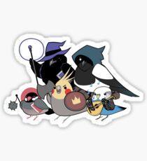 D&D Birds Sticker