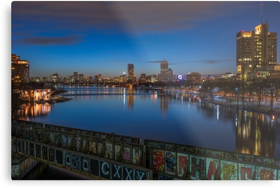 Blue Hour, Boston by mattmacpherson