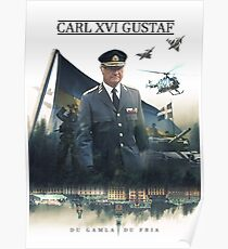 Carl XVI Gustaf Poster