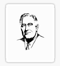 President Franklin Roosevelt Graphic Sticker