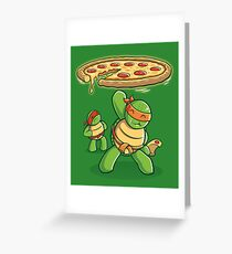 Delicious Disk Attack Greeting Card