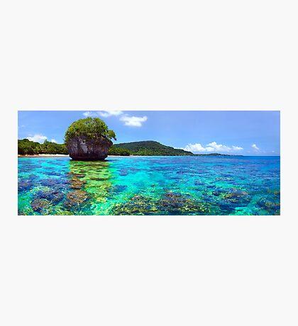 Vanuatu Island Paradise Photographic Print