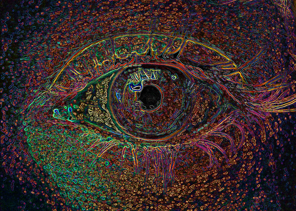 Color Infused Eye by Jeremy Evans