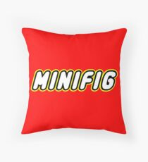MINIFIG, Customize My Minifig Throw Pillow