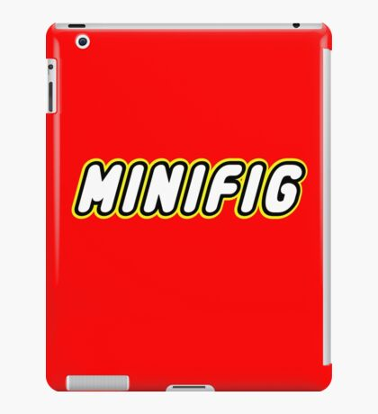 MINIFIG, Customize My Minifig iPad Case/Skin
