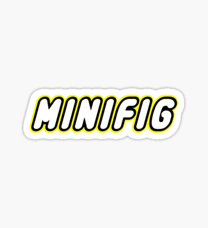 MINIFIG, Customize My Minifig Sticker