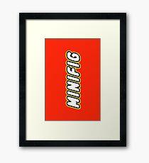 MINIFIG, Customize My Minifig Framed Print