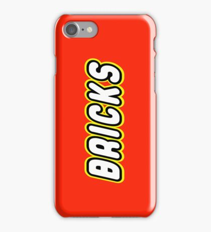 BRICKS, Customize My Minifig iPhone Case/Skin