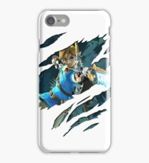 LINK! from Zelda: Breath of the Wild iPhone Case/Skin