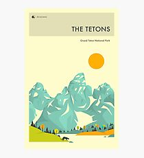 THE TETONS Photographic Print