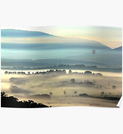 Yarra Valley Sunrise Poster